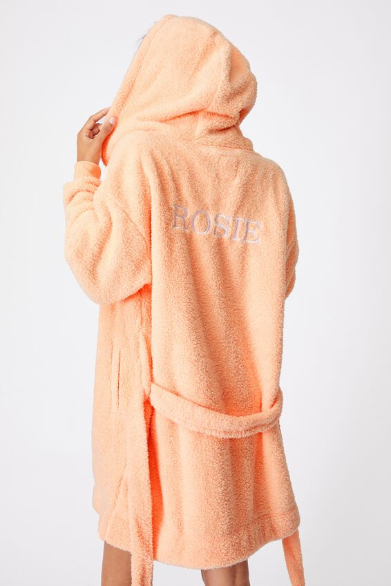 The Lounging Robe Personalisation, FUNFETTI