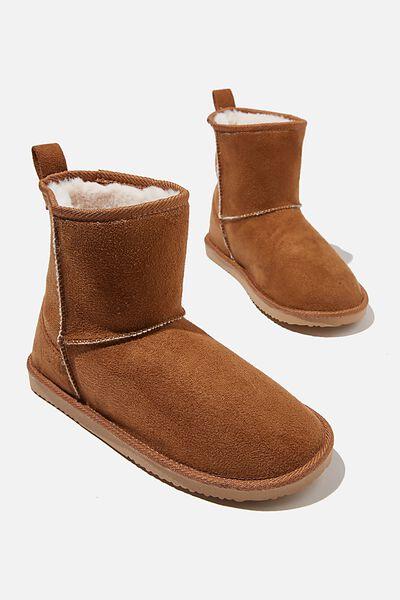 Body Home Boot, CASHEW