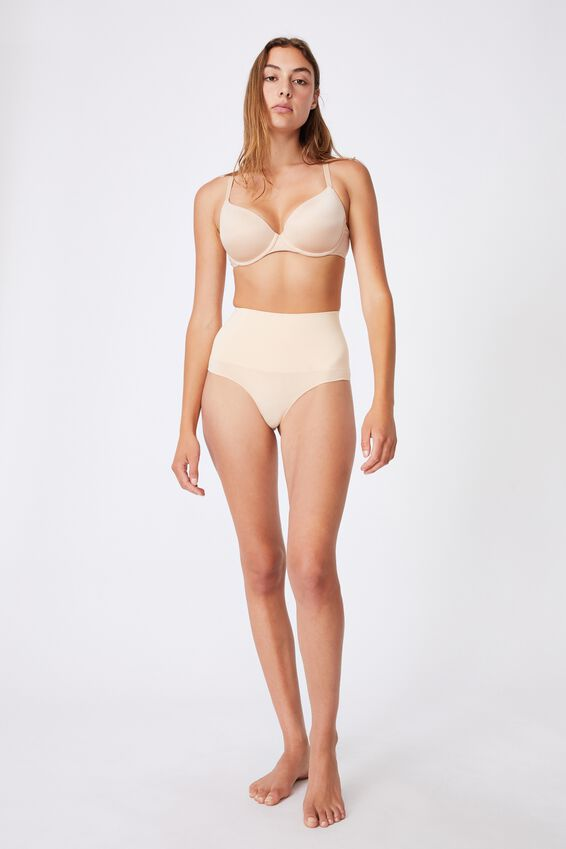 Take Control High Waist G String, FRAPPE