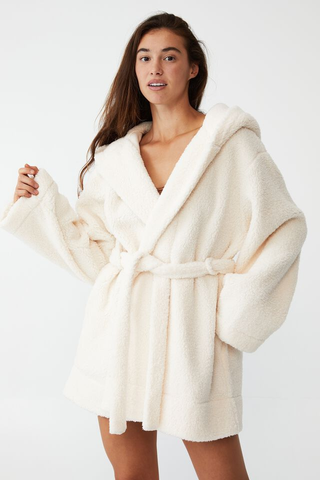 The Snuggle Robe, ALMOND BUTTER