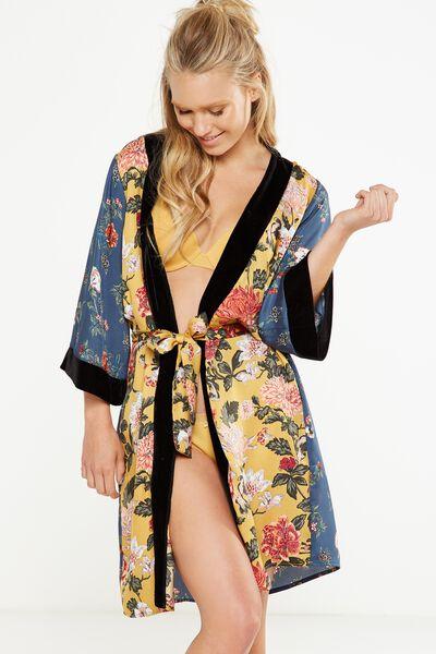 Velvet Gown, FUSION FLORAL