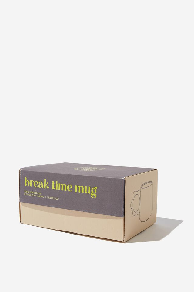 Break Time Mug, APRICOT CIRCLE