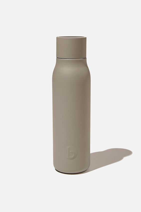 Hydrate Me Drink Bottle, CHARCOAL