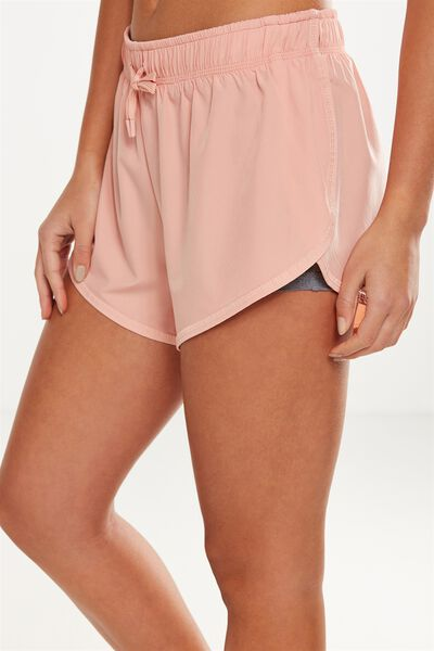 Move Jogger Short, PETAL PINK/GREY MARLE