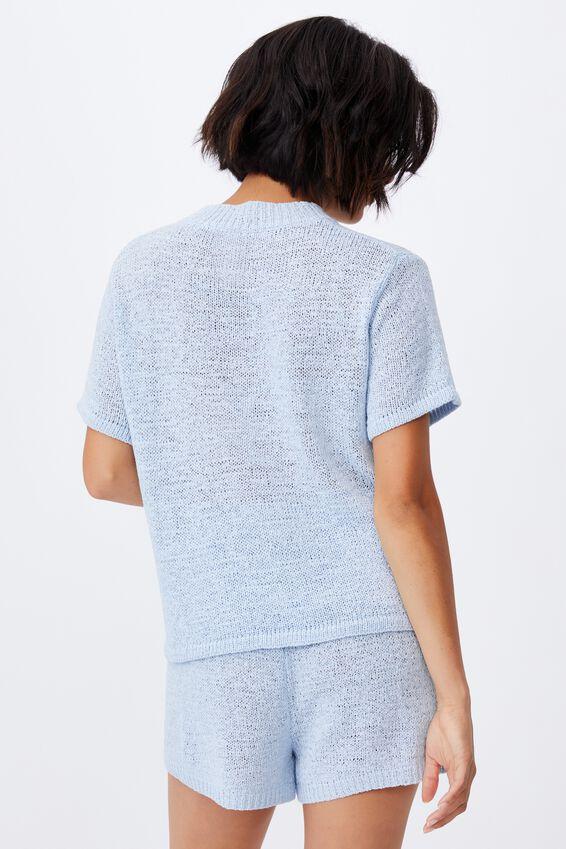 Summer Lounge T-Shirt, BABY BLUE