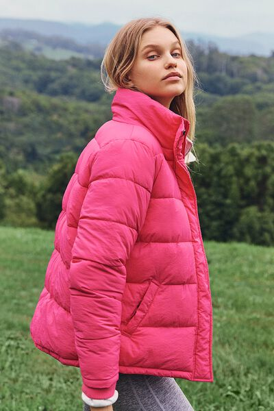 The Mother Puffer, WINTER BRIGHT PINK