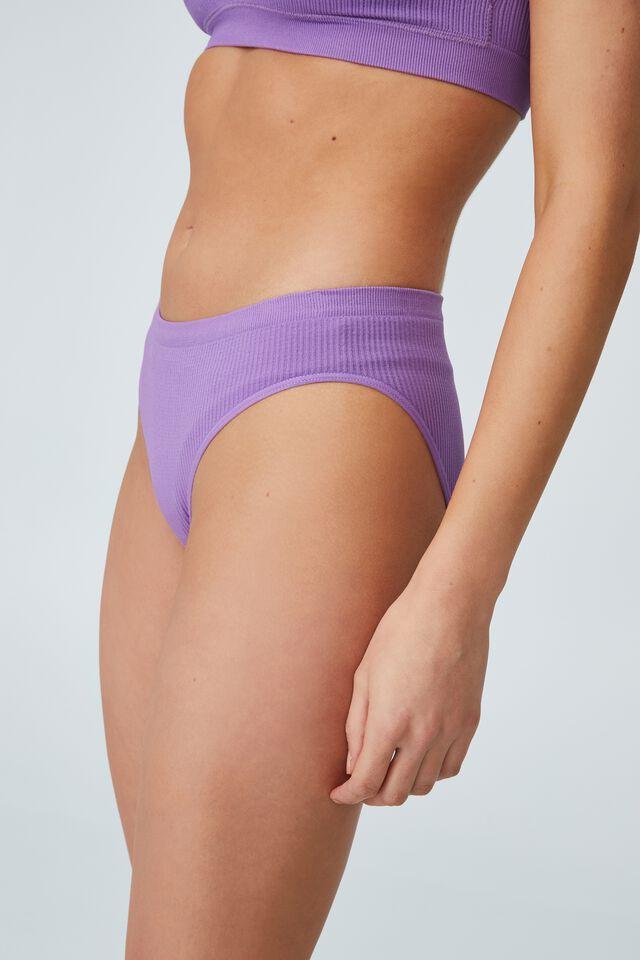Seamless Bikini Brief, BERRY SMOOTHIE