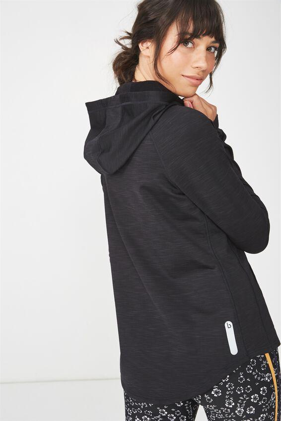 Warm & Fuzzy Jacket, BLACK MARLE