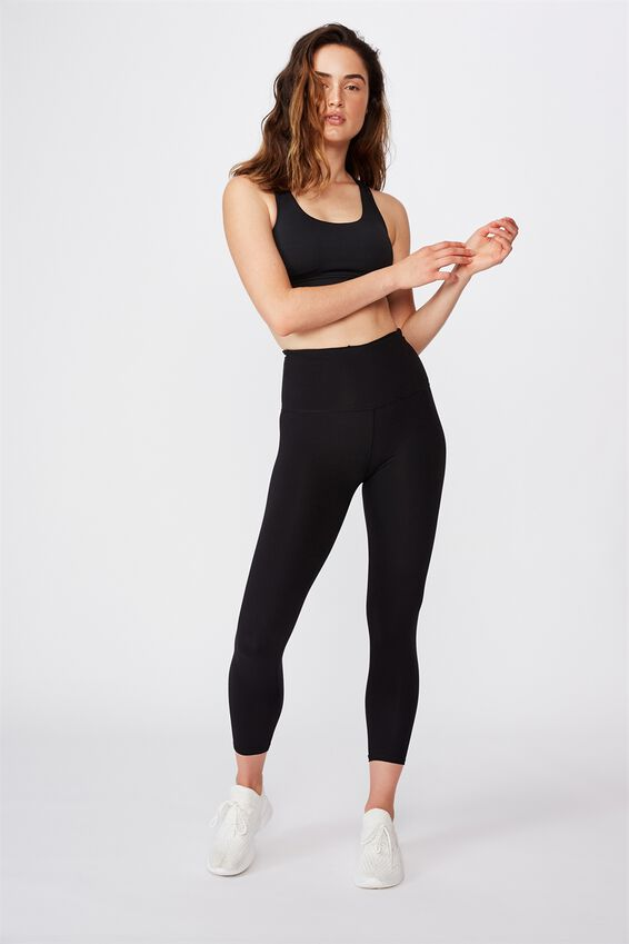 Active High Waist Core 7/8 Tight, CORE BLACK