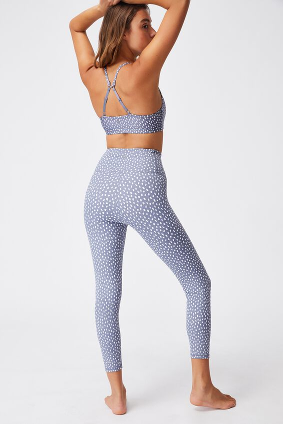 Workout Yoga Crop, LARGE NOMINAL SPOT