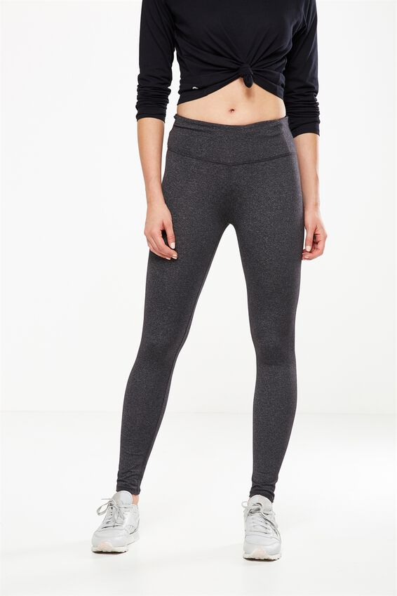 Active Core Tight, BB CHARCOAL MARLE Y