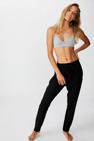 The Lounge Pant, BLACK
