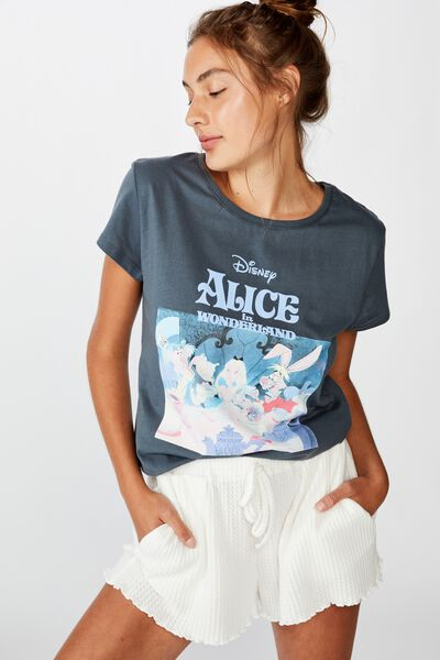 Dreamy Jersey T Shirt, LCN DISNEY ALICE