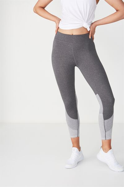 Move With You 7/8 Tight, CONCRETE MARLE/GREY HEATHER