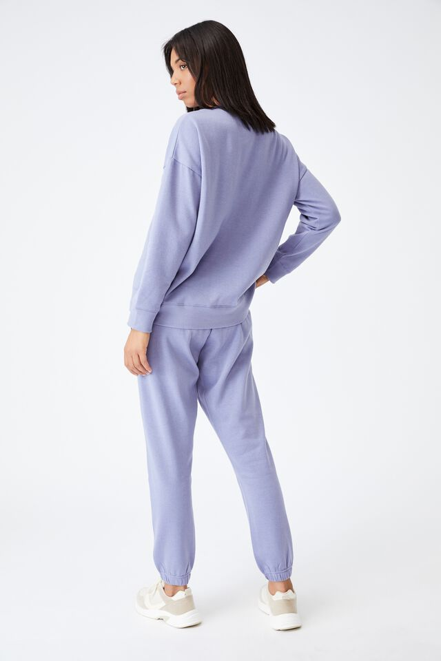 Lifestyle Gym Track Pant, PERIWINKLE