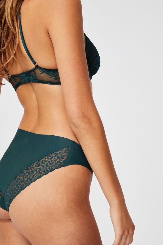Party Pants Seamless Bikini Brief, WINTER GREEN