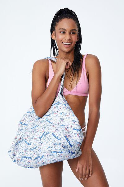 Essential Beach Tote, SURFER GIRL