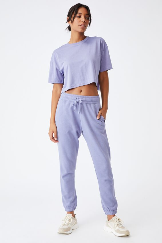 Relaxed Active T-Shirt, PERIWINKLE