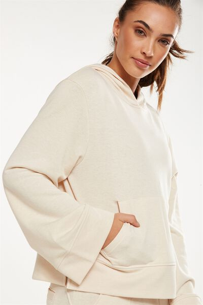 Bell Long Sleeve Top, LIMESTONE