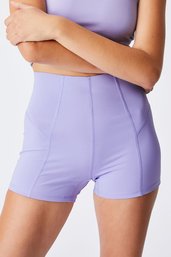Ultimate Booty Shortie Short, CHALKY LAVENDER