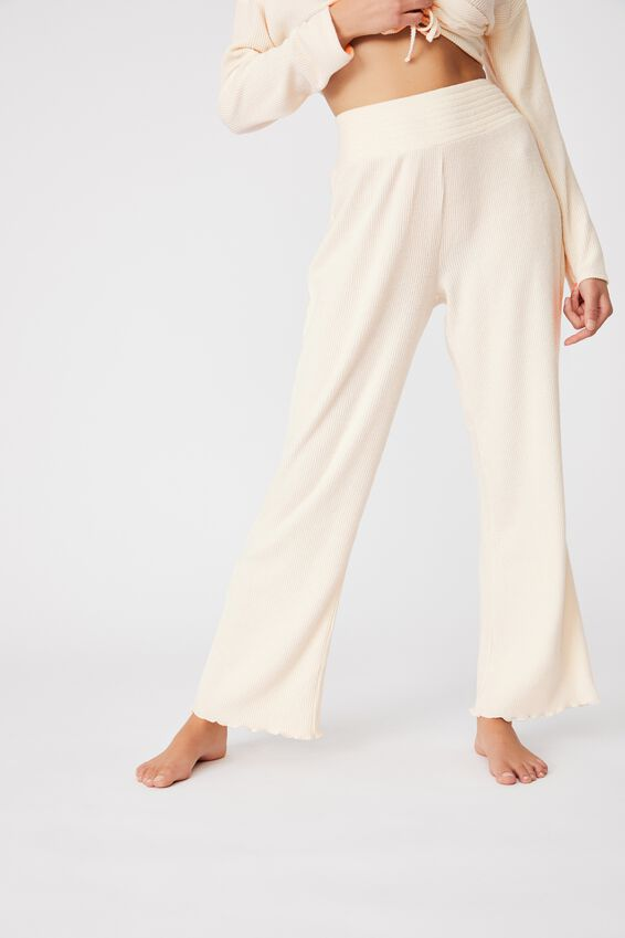 Super Soft Relaxed Pant, OATMEAL MARLE