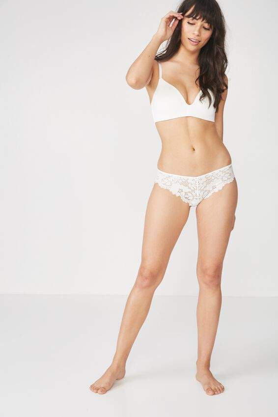 Maddie Bikini Brief, CREAM