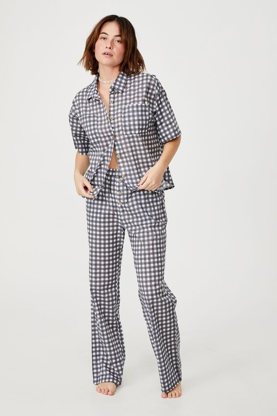 Bed Time Woven Set, CLASSIC GINGHAM