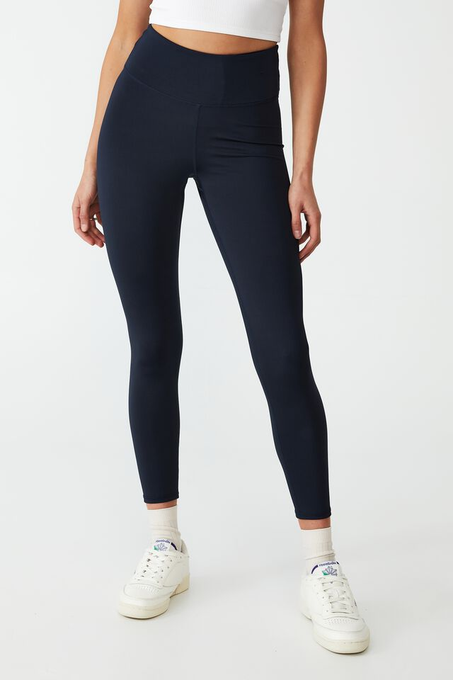 Contouring Scrunch Booty 7/8 Tight, NAVY