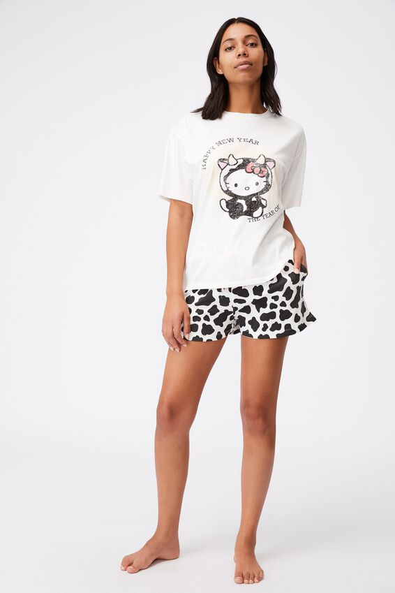90S Bed T Shirt, LCN SAN HK YEAR OF THE OX