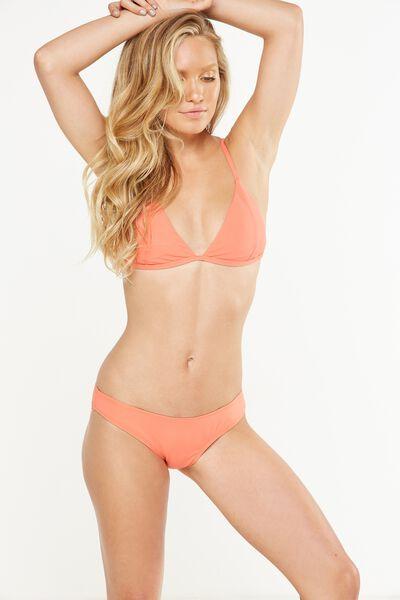 Classic Full Bikini Bottom, SPICED CORAL