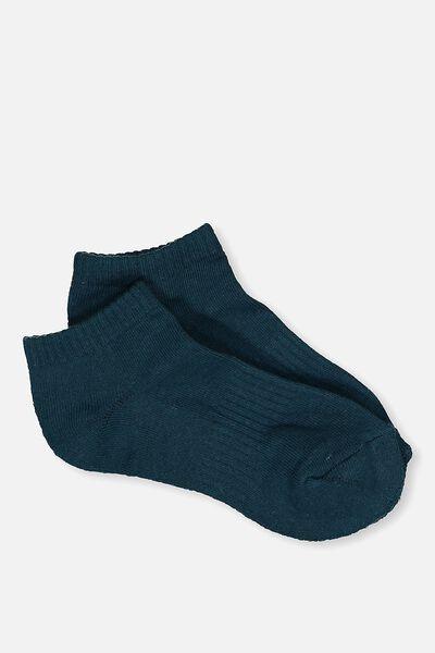 Active Basic Sock, HUNTER GREEN