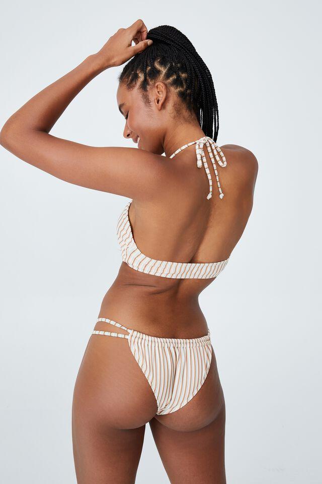 Floss Bikini Top, MINT CHIP MULTI LUREX STRIPE