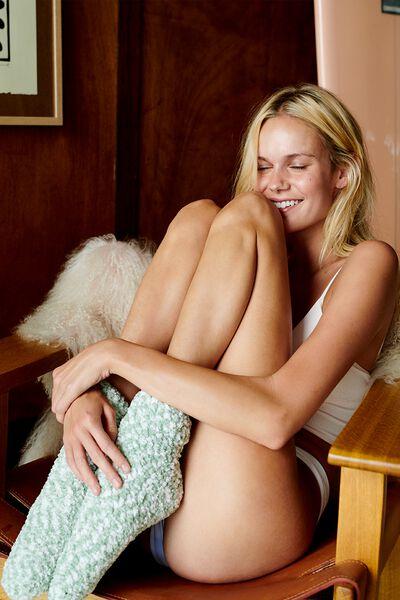 Body Dreamy Bed Sock, WASHED ALOE