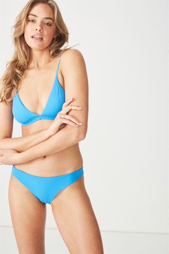 Classic Seamless Full Bikini Bottom, COBALT BLUE