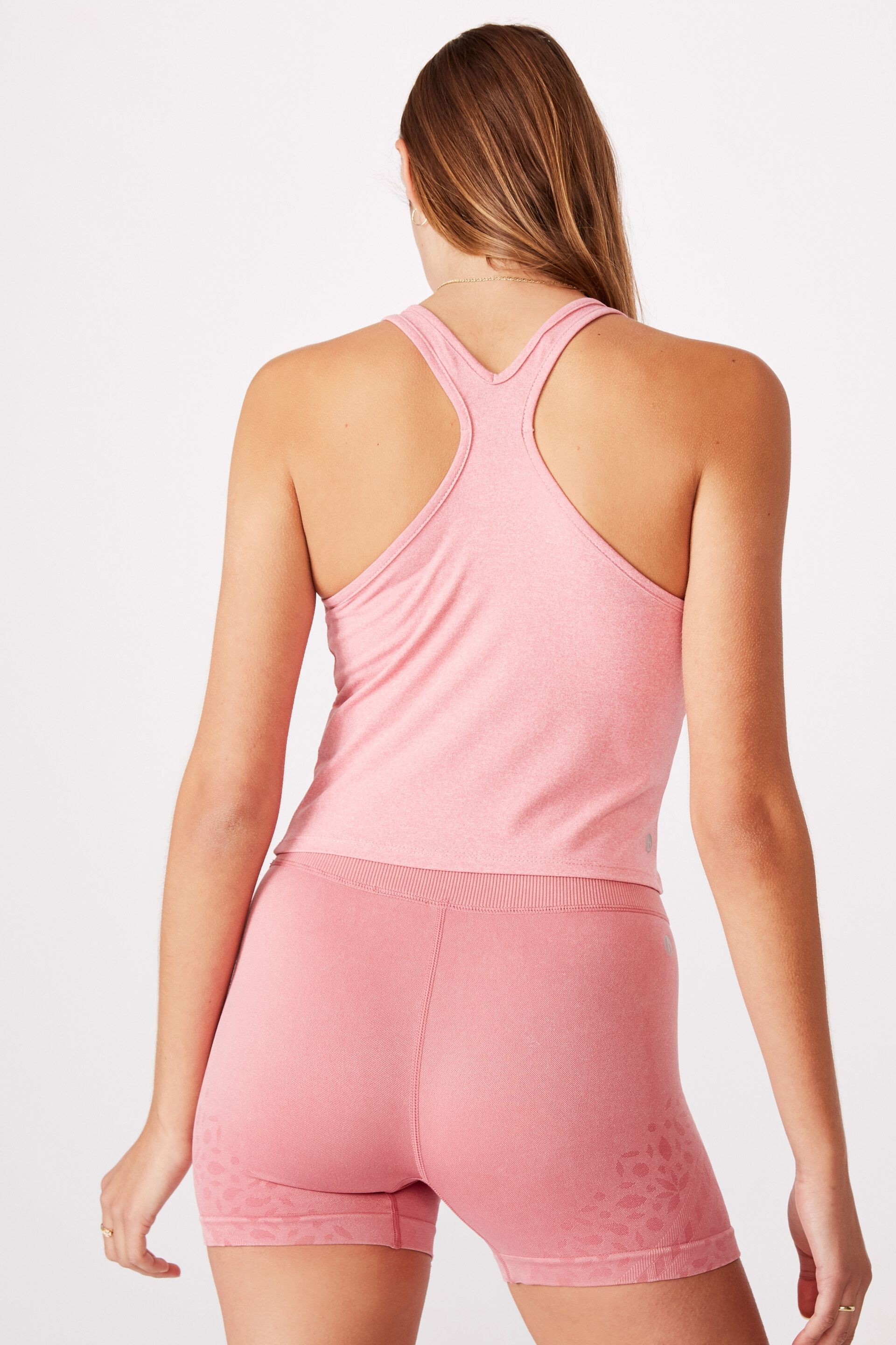 Chalky Racer Crop Tank | Cotton On