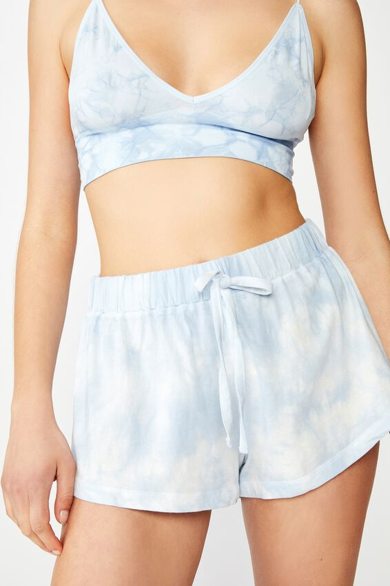 Jersey Bed Short, TONAL BABY BLUE