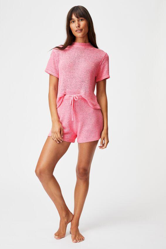 Summer Lounge T-Shirt, PRIMROSE
