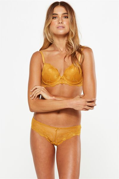 Cindy Contour Bra, GOLDEN GLOW