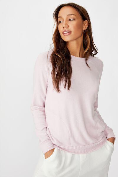 Supersoft Pocket Crew, LILAC SNOW MARLE