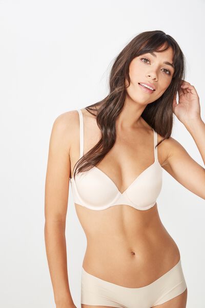 Ultimate Comfort T-Shirt Bra, BLUSH