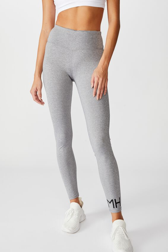 Personalised Core Tight, MID GREY MARLE