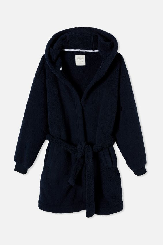 The Lounging Robe Personalisation, NAVY