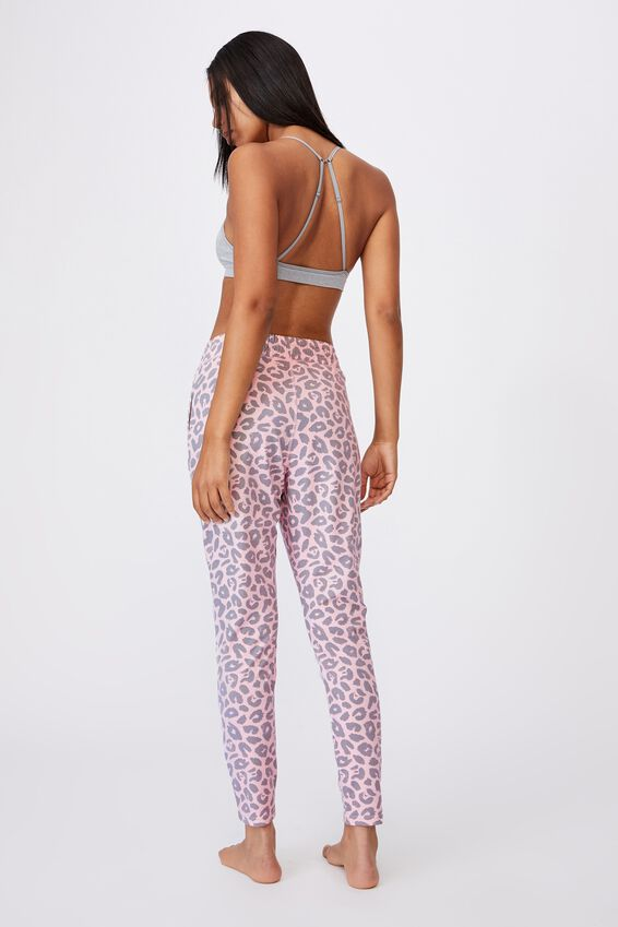 The Lounge Pant, TONAL LEOPARD PRETTY PINK