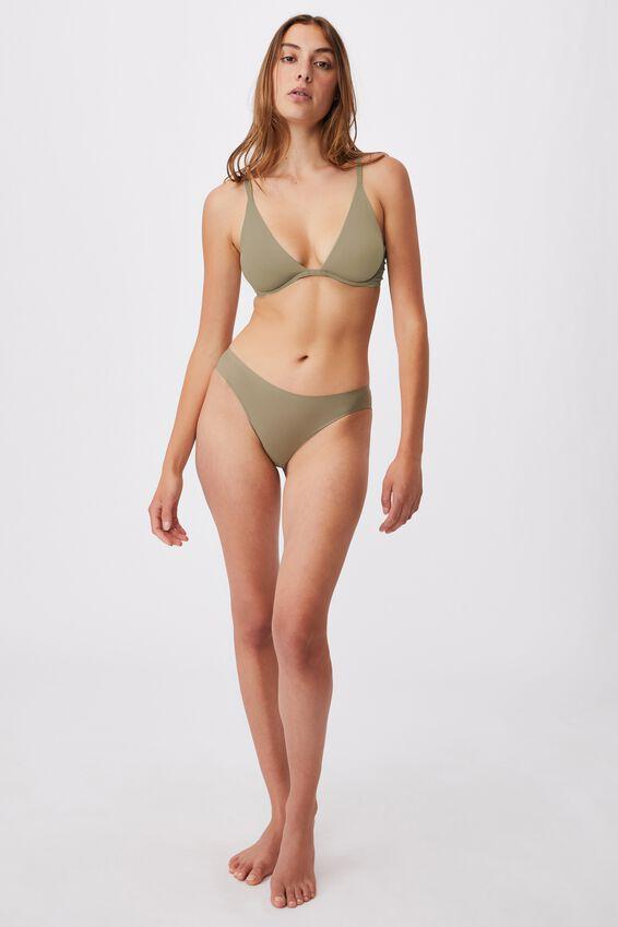 Party Pants Seamless Bikini Brief, OREGANO