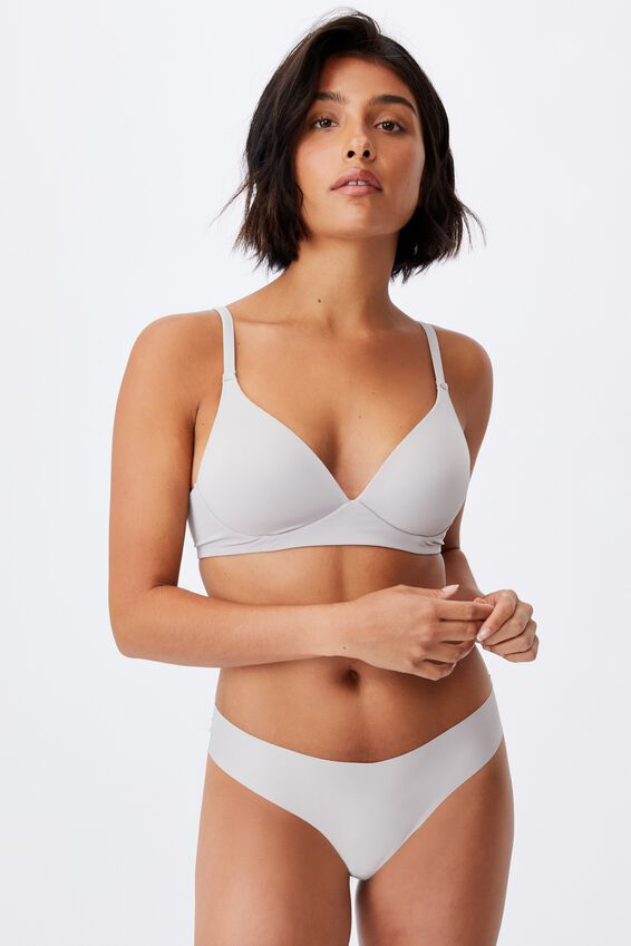 Wirefree Everyday T-Shirt Bra, QUAIL
