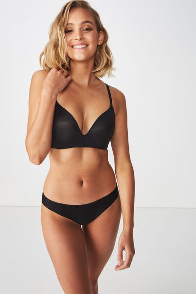 Ultimate Comfort Bra, BLACK