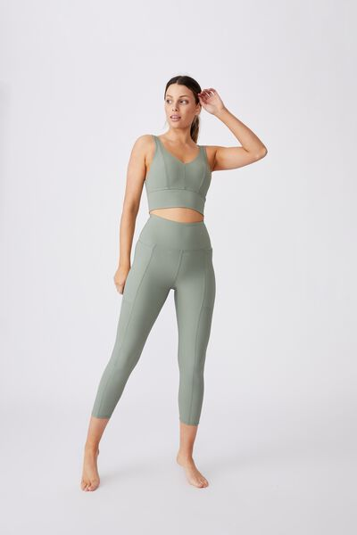 Rib Pocket 7/8 Tight, BASIL GREEN
