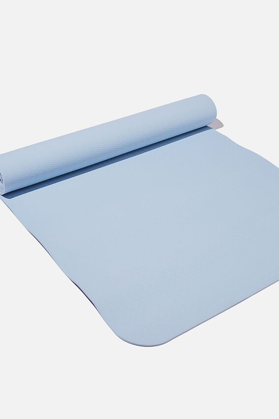 Yoga Mat, BABY BLUE