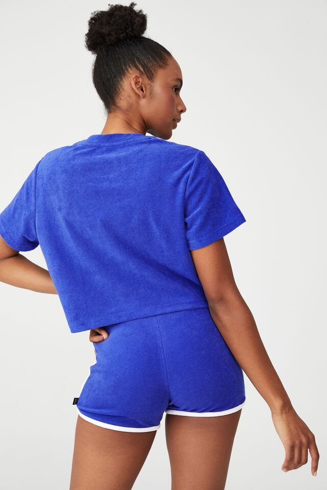 The Sweat To Swim T-Shirt, BLUEBERRY