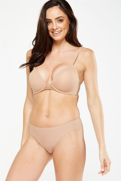 Ultimate Lace Comfort Bra, CINNAMON